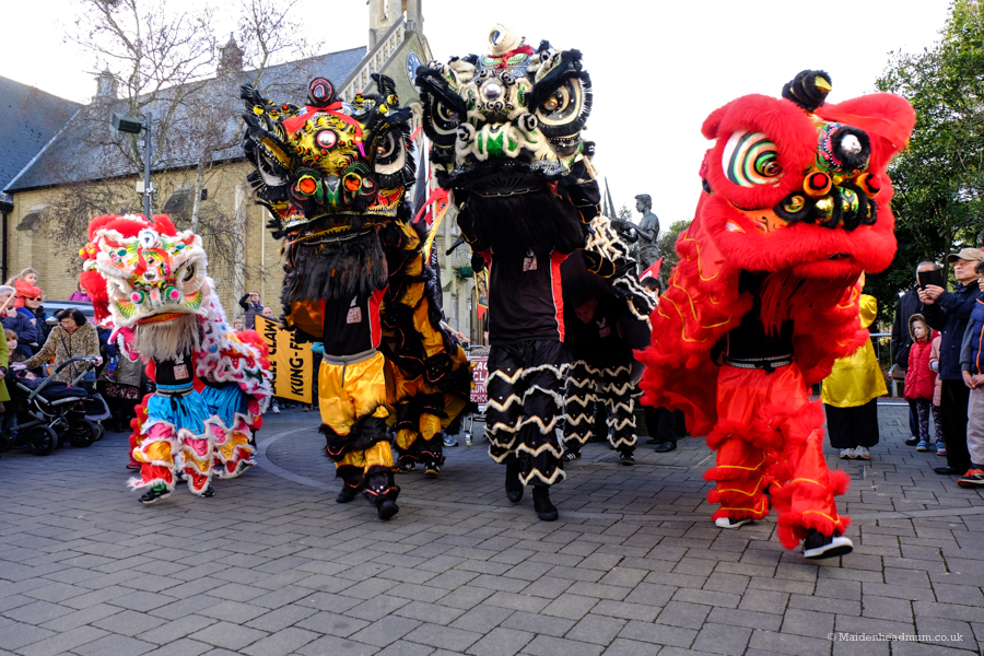 Chinese New Year in Maidenhead