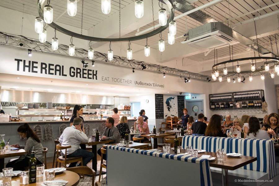 The real Greek Reading restaurant.