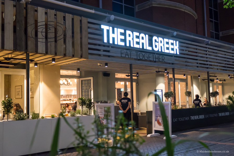 The Real Greek in Reading reviewed