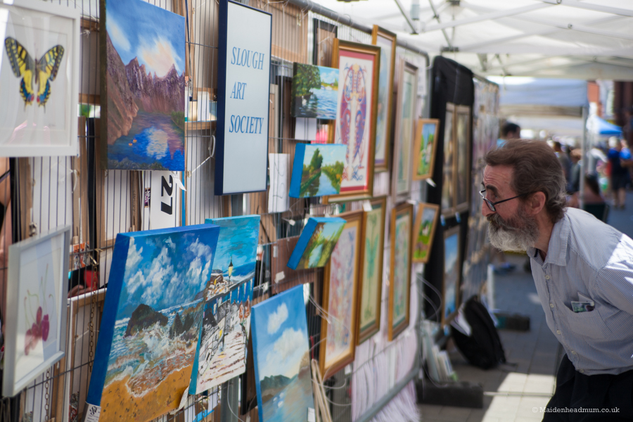 Maidenhead Moments: Art on the Street
