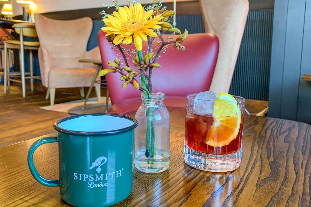 cocktails at Coppa Club Maidenhead