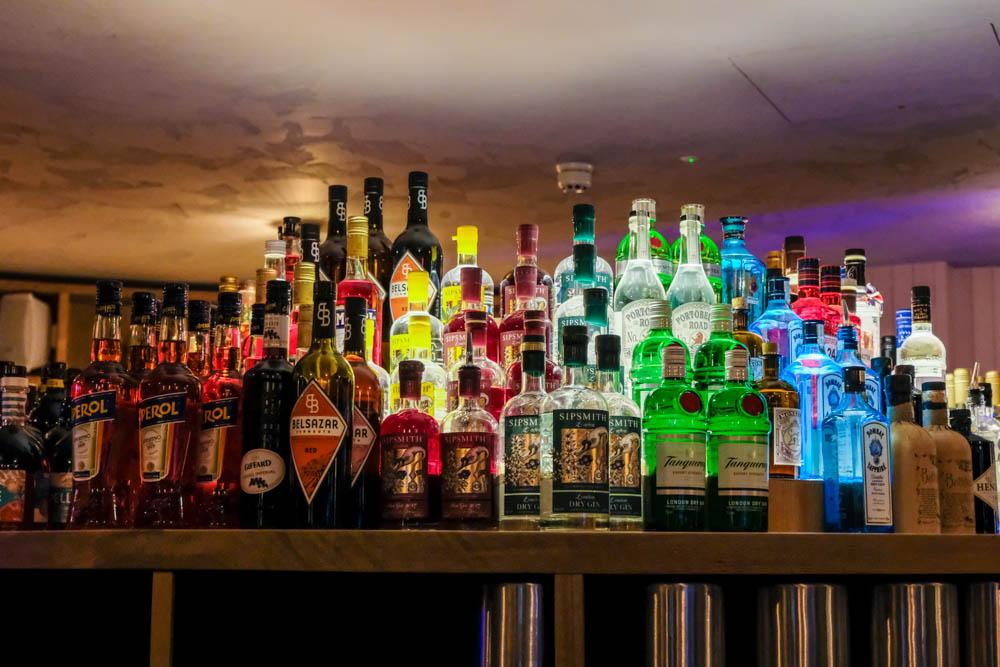 The bar at Coppa Club Maidenhead