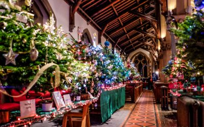 It's looking a lot like Christmas at the Maidenhead Christmas Tree festival.