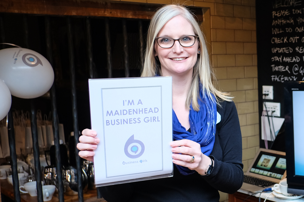 Jodie Humphries Maidenhead Business Girl