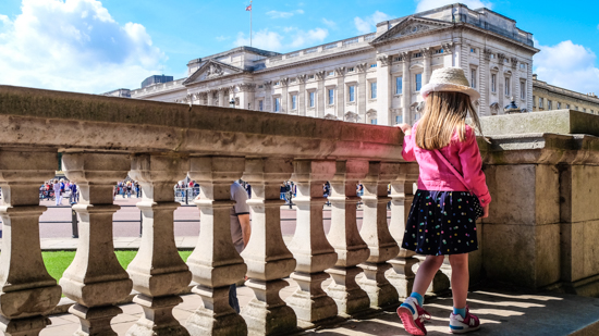 day trip from Maidenhead to London to see Buckingham palace