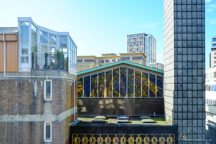 room with a view at the Qbic Hotel London