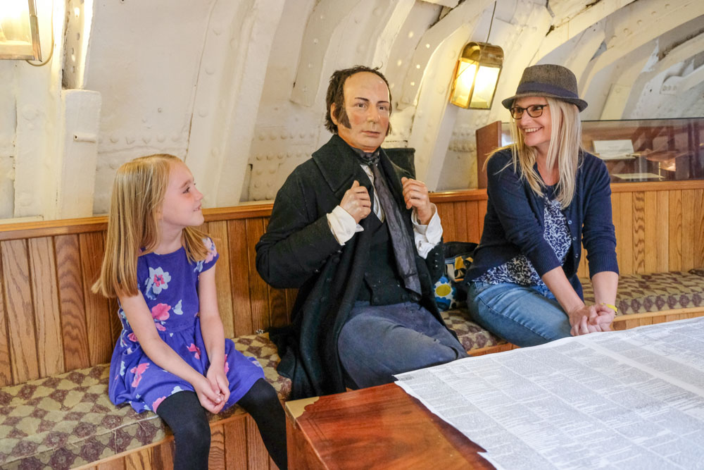 We asked Brunel if he would like to come to tea with us!