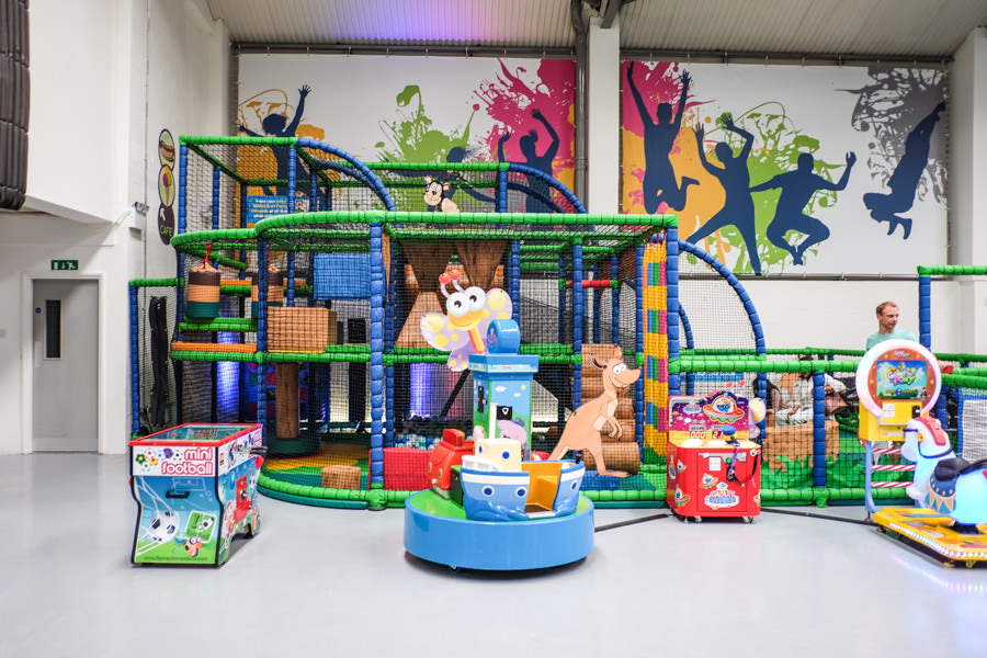 Soft play area in Jump In Slough