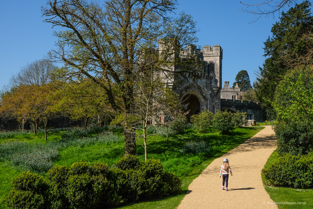 Exploring Arundel castle with kids