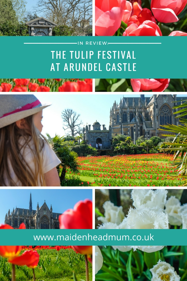 The Tulip Festival at Arundel Castle takes place during April and May and the grounds are transformed with tens of thousands of tulips. It's a great day out for the family.