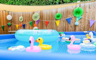 How to bring holiday fun to your garden with a semi-permanent paddling pool