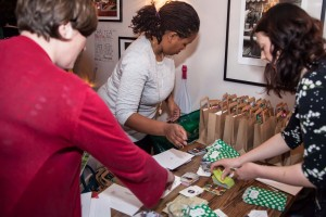 Marcia helped co-ordinate Goody bags for each of the members with a business card from everyone